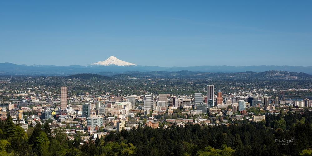 Portland Postcard View