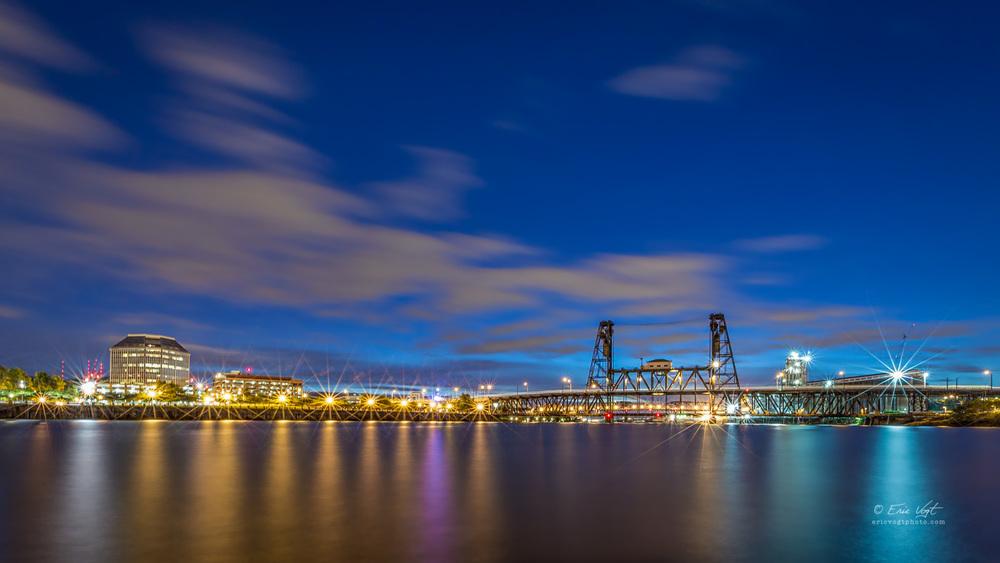 Steel Bridge Long Exposure