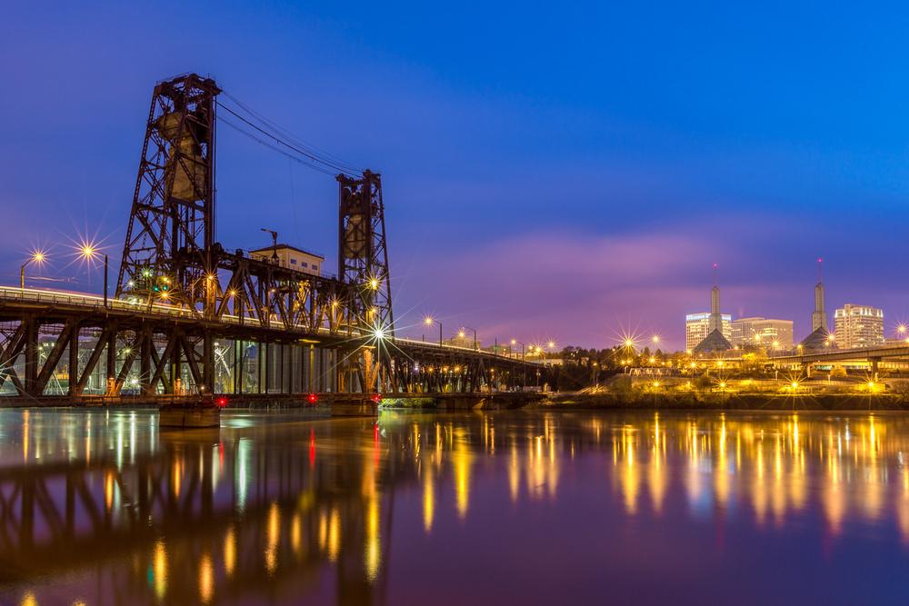 Clouding Dawn, Steel Bridge