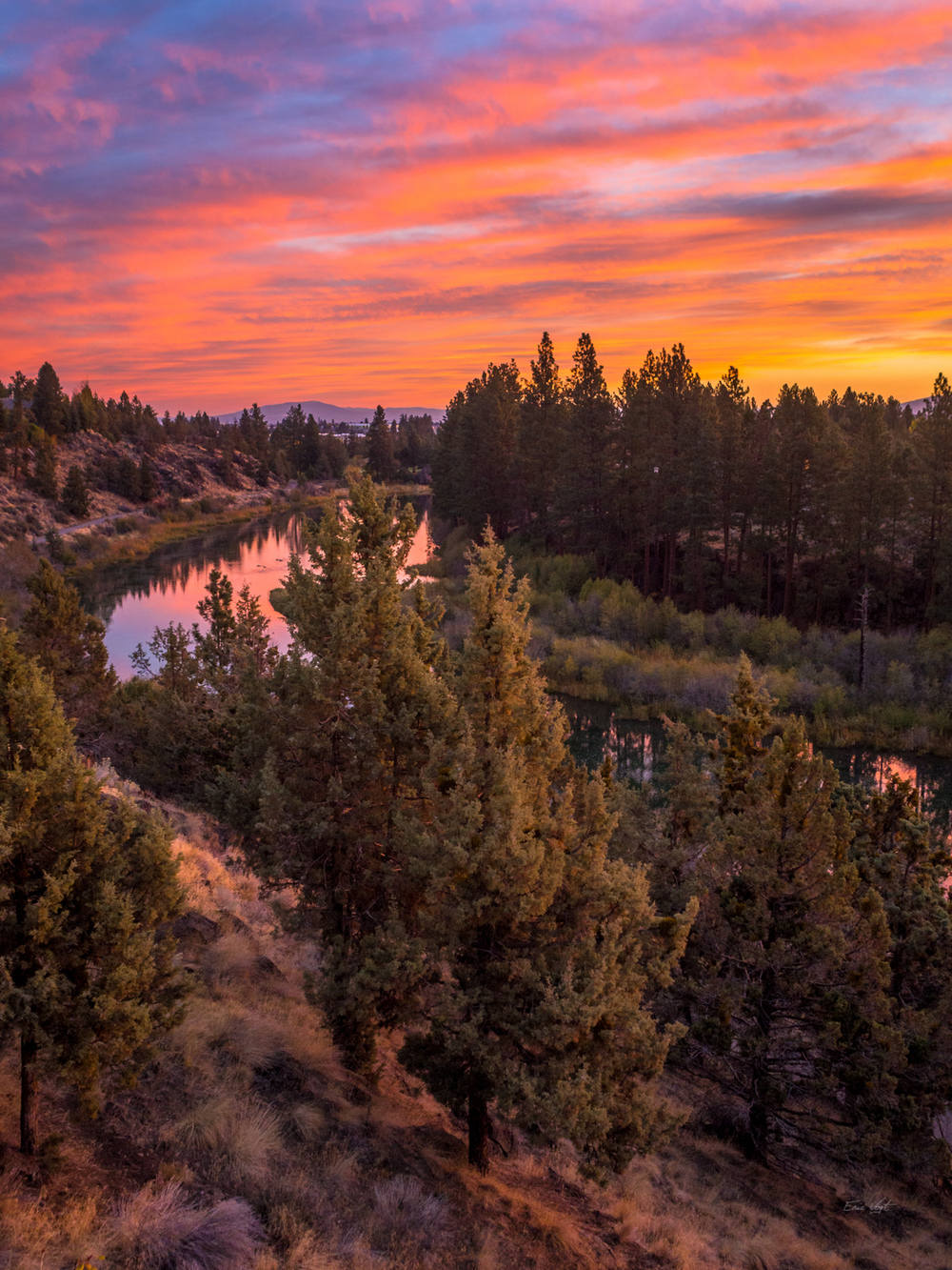 Sunrise Over the Deschutes