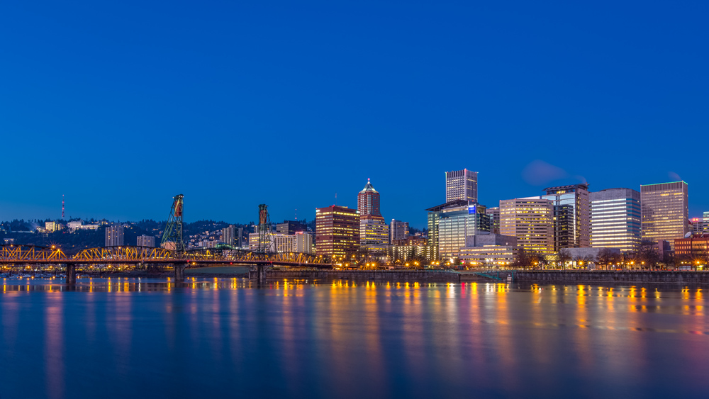 Portland Clear Blue Dawn