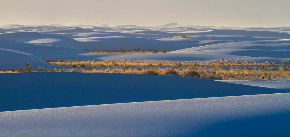 Rolling Dunes of White Sands