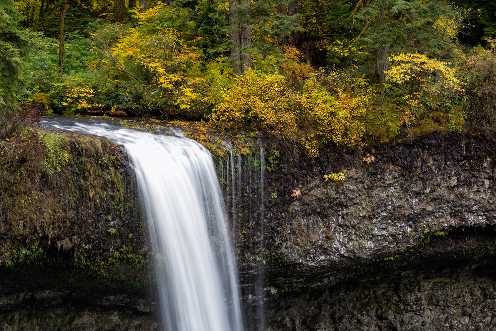 Silver Falls, Over the Top
