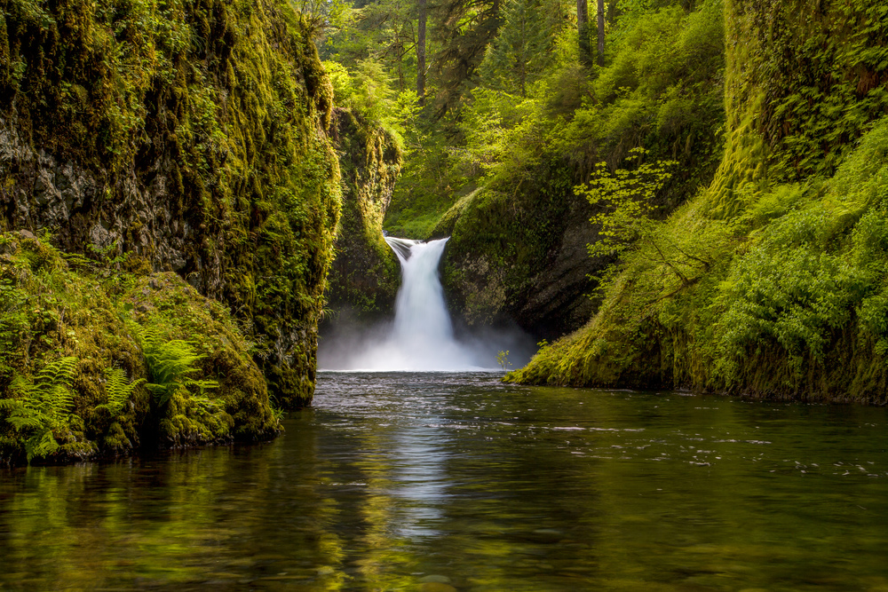 Punchbowl Falls, Kiss of Afternoon Light