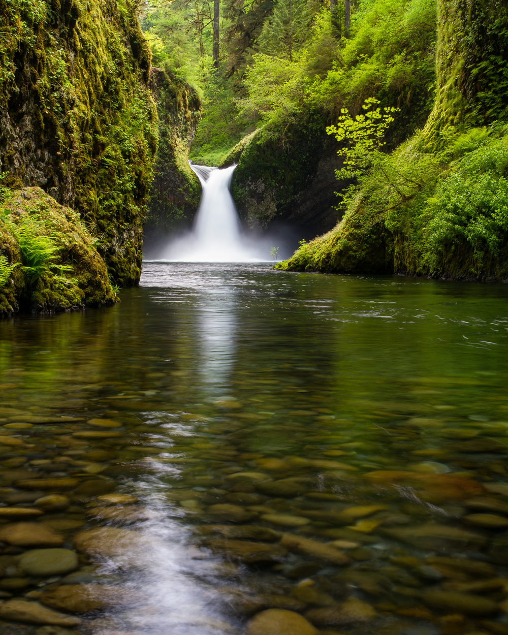 Punch Bowl Falls Vertical