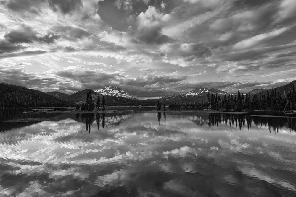 Sparks Lake Cloudscape