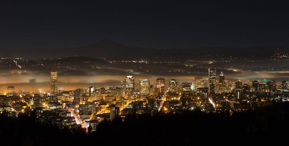 Fog at First Light