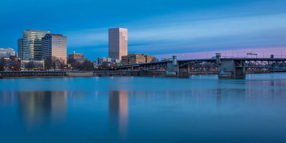 While quite pretty, I need to explore the city of Portland more and find some new compositions of my home town's skyline