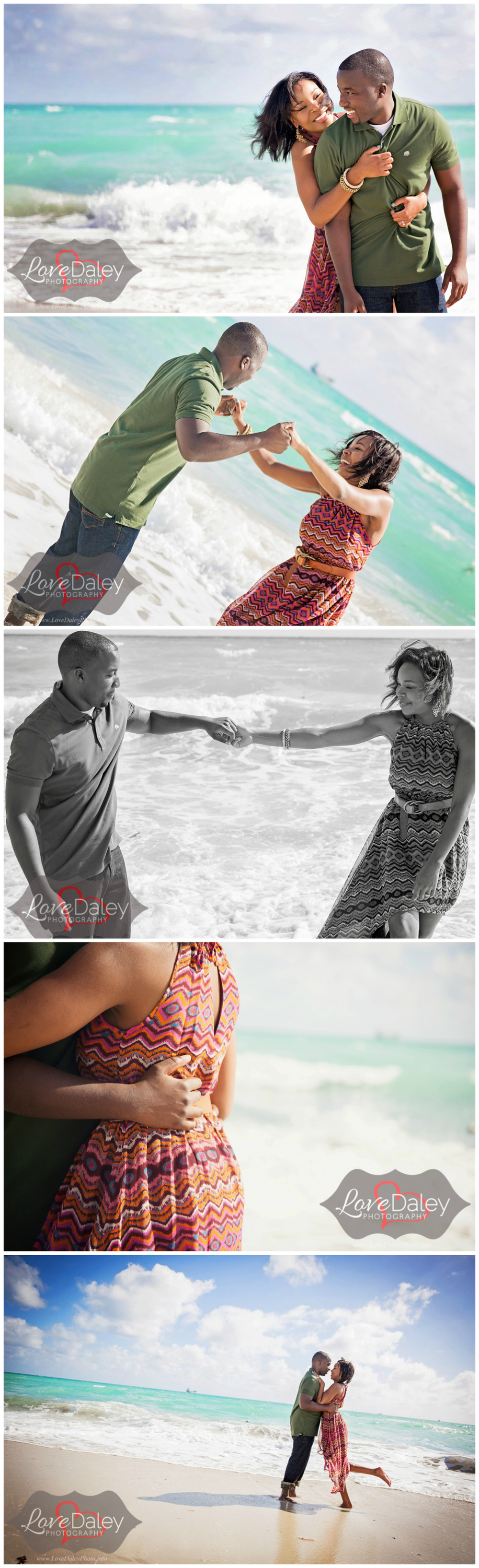 Ft. Lauderdale Beach Engagement Shoot