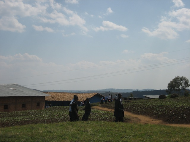 Remera Mbogo school sits on the top of a mountain just outside of Kigali, Rwanda.