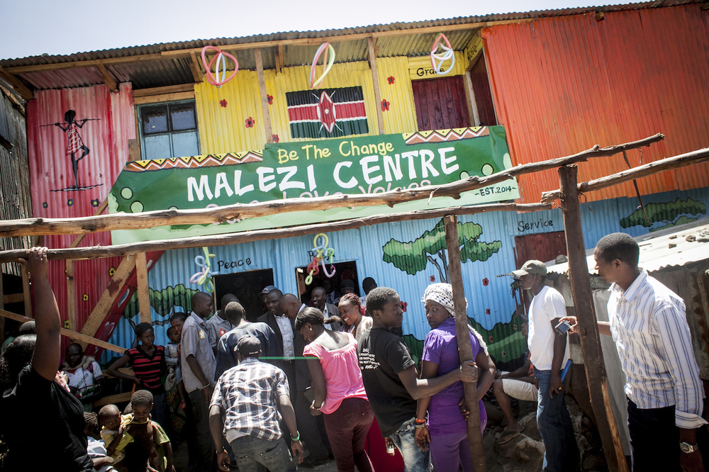 We launched a new Malezi Centre early in 2014.