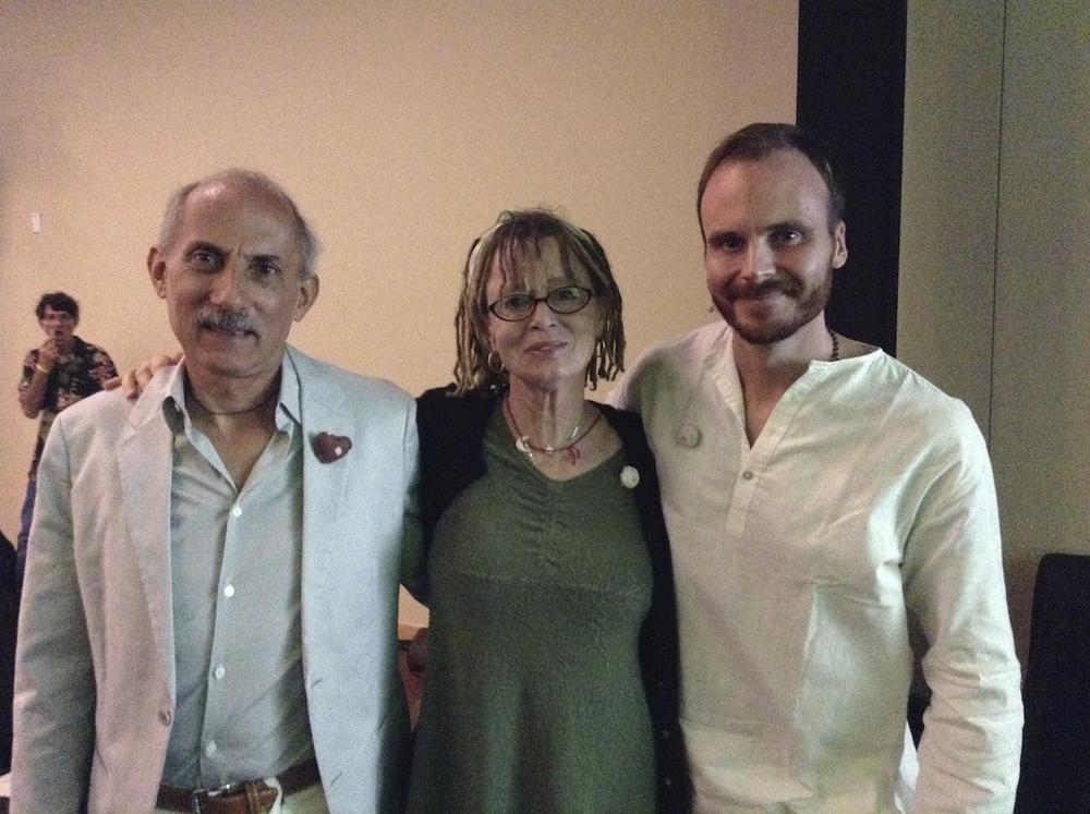 Photo op with Jack Kornfield and Anne Lamott.