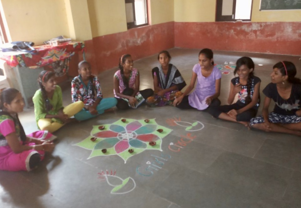 Girls Circle, Diwali 2017.