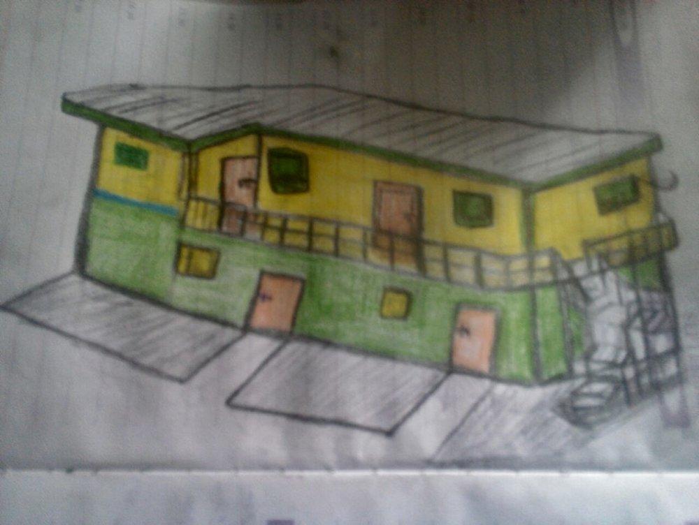 Sketch of new annex.