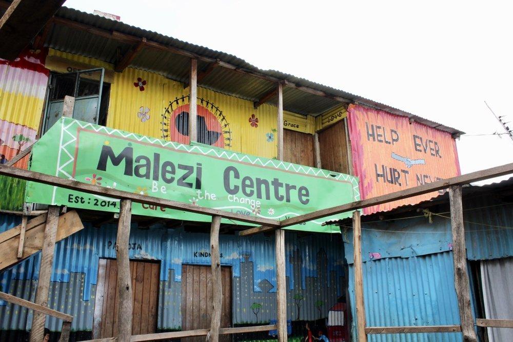 The new Malezi Centre.