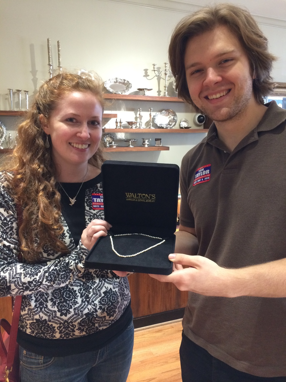 The Walton's Golden Egg was found on April 16th, 2014 at 4:15! Congratulations to our lucky hunters!