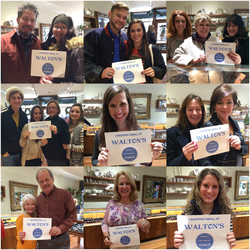 Thank you so all who came out to support Small Business Saturday! We love our customers!