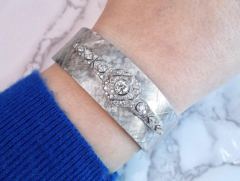 Everyone needs a little arm candy for the holidays! Shop this fabulous diamond bangle bracelet  HERE .