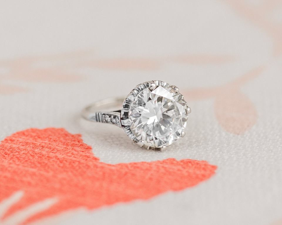 A 4.91 carat diamond knockout! Click  HERE  to shop!