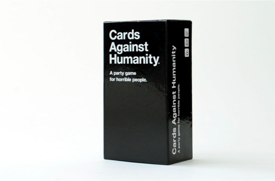 the best games for adults  /  cards against humanity