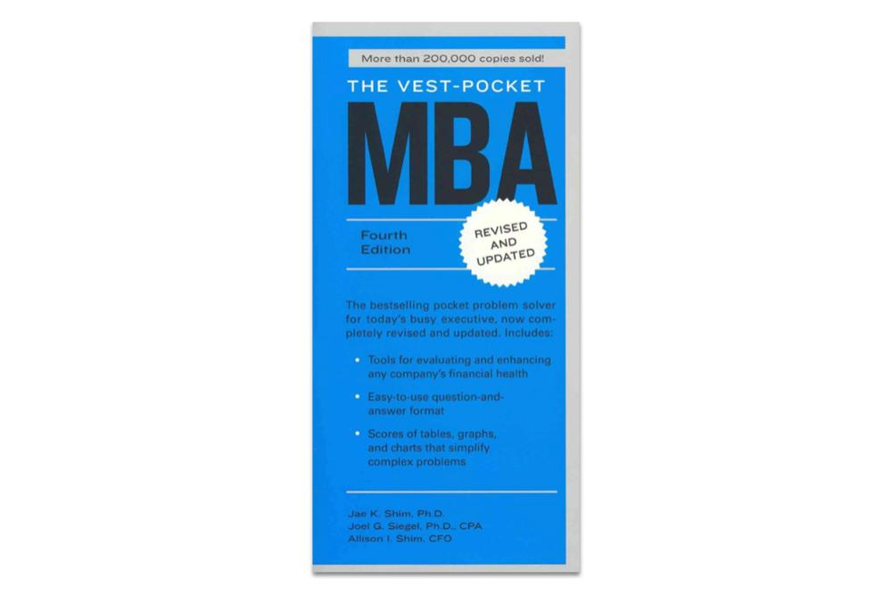 books for entrepreneurs  /  vest pocket mba