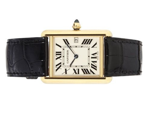 classic jewelry essentials  /  vintage louis cartier watch
