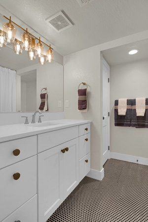 Keller Homes Modern Farm Homebuilder Colorado Springs Silverton Basement BAth.jpg