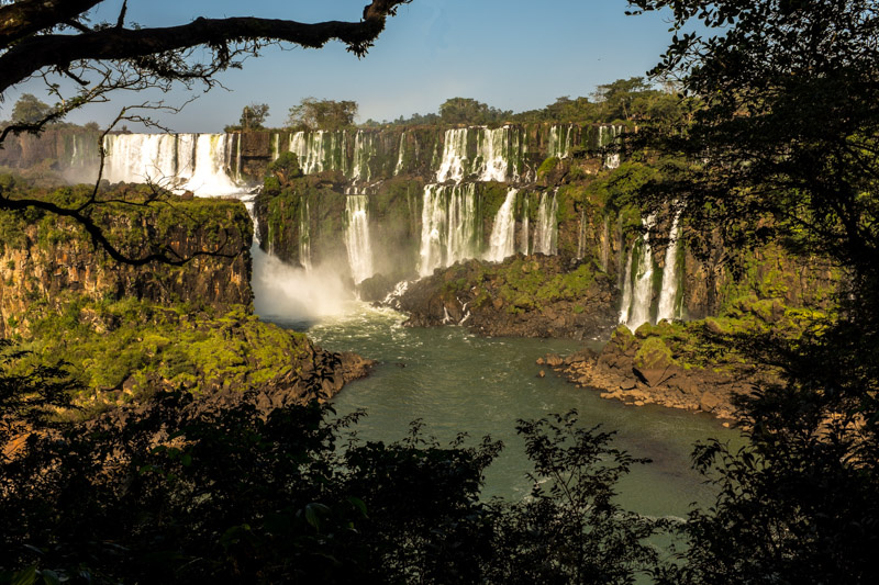 Water everywhere, Iguazu Falls