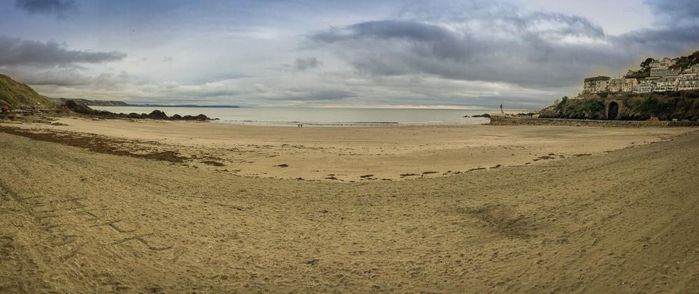 Looe beach