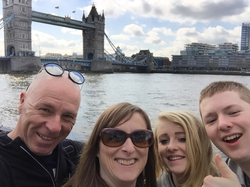 4 go wild in London