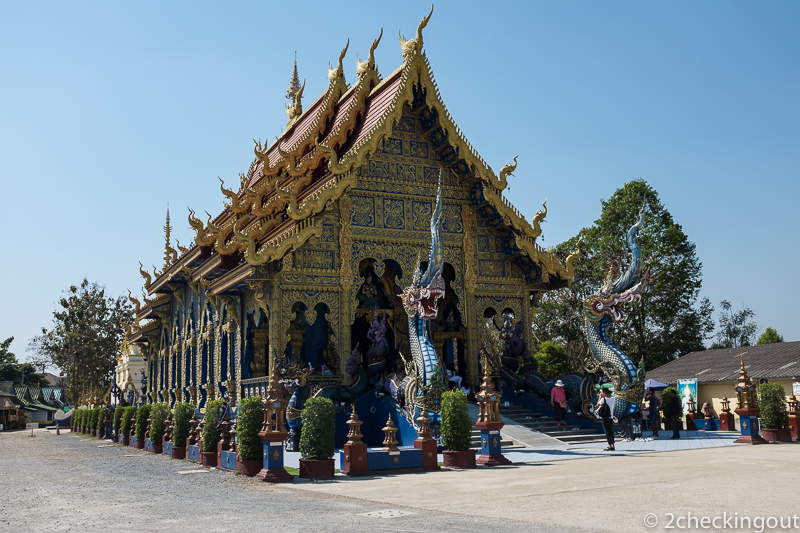 The stunning Blue Temple Chiang Rai