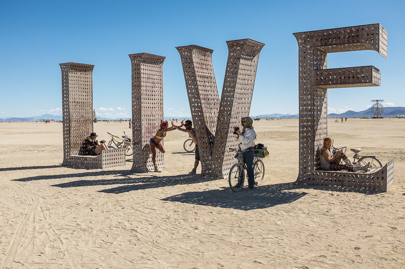 Burning Man Festival, Black Rock City, Nevada