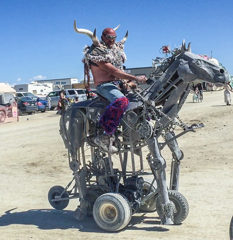 BURNING MAN: 1st TIMERS