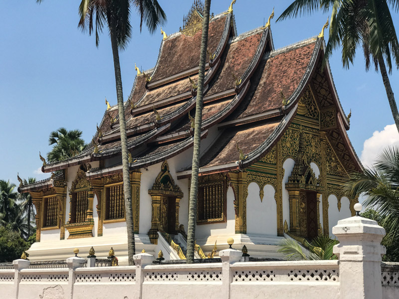 The majestic Haw Pha Bang, part of the Royal Palace complex