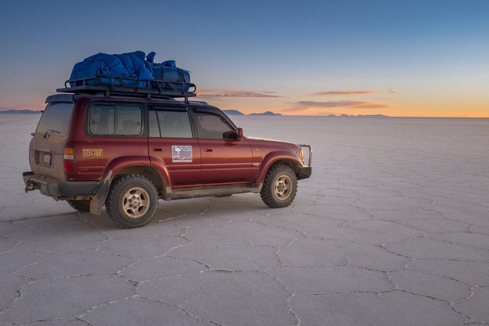 Bolivia, Salt Flats  -