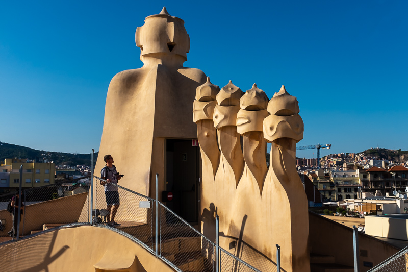 Checking Out: What to see in Barcelona in 4 Days    We spent four wonderful days exploring Barcelona, including Guadí designed houses, Casa Milà and Casa Botlló. As well as being blown away by the scale of Sagrada Famílía.