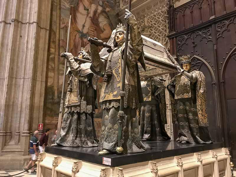Christopher Columbus tomb