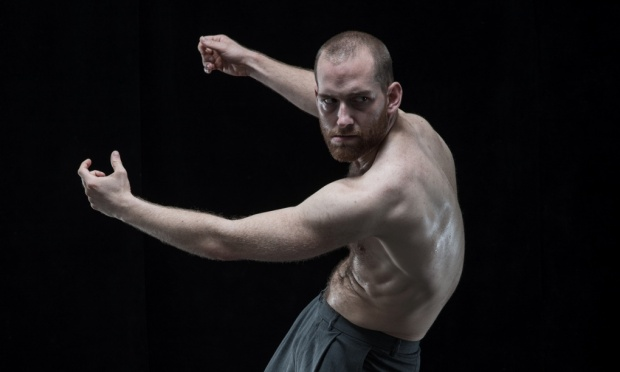 Hannes Langolf of DV8 Physical Theatre in John. Photograph: PR