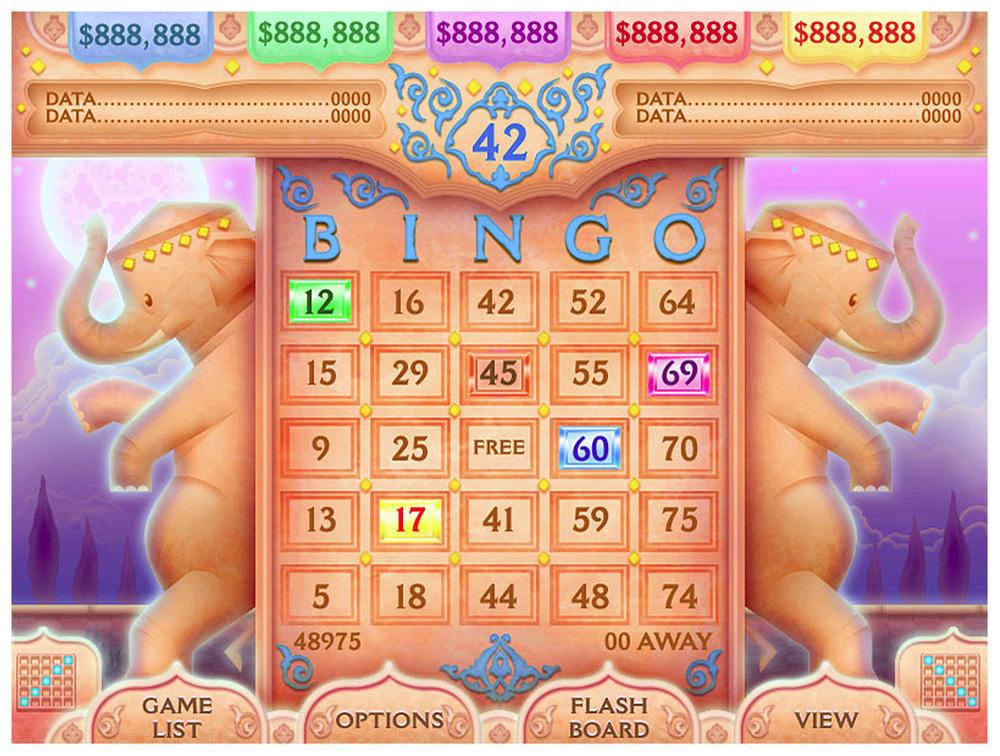 Good Luck Charms Session Bingo Game