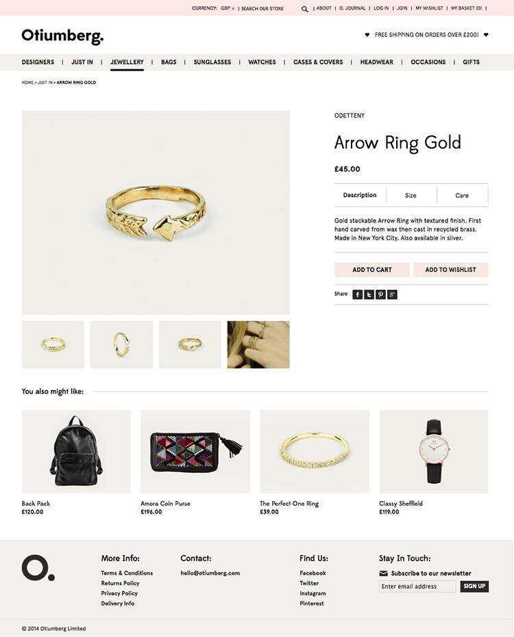 Otiumberg - Product Page
