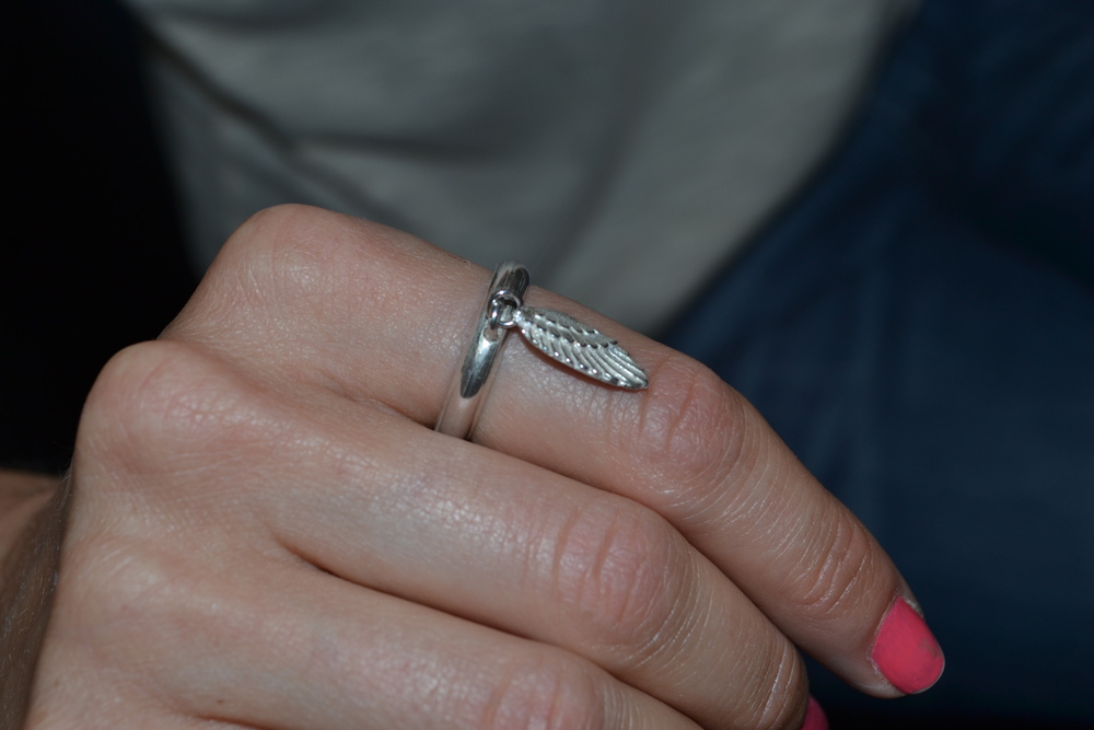 Harry's Angel Wing Ring
