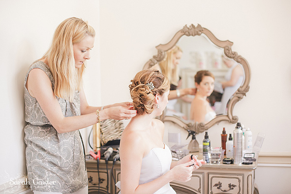 Bridesmaid hair at Nonsuch Mansion