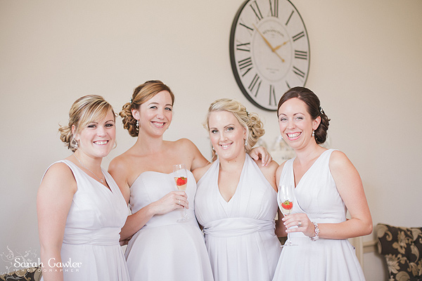 Bridesmaids at Nonsuch Mansion