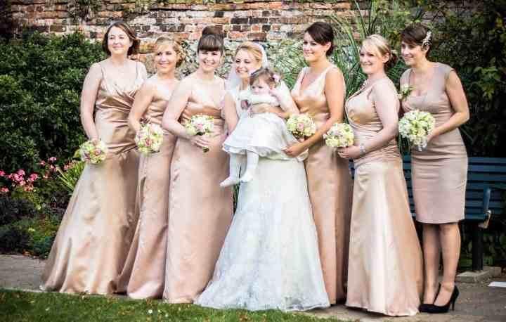 Bridal party hair and make up