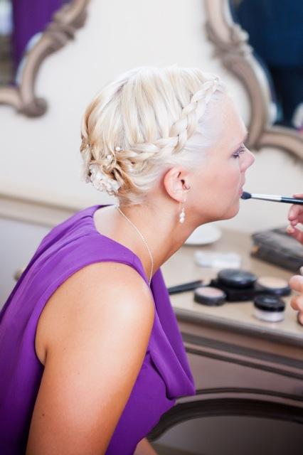 Bridesmaid Style- Plaited hair