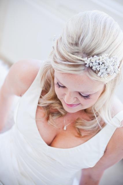 Wedding Hair - half Up Half Down