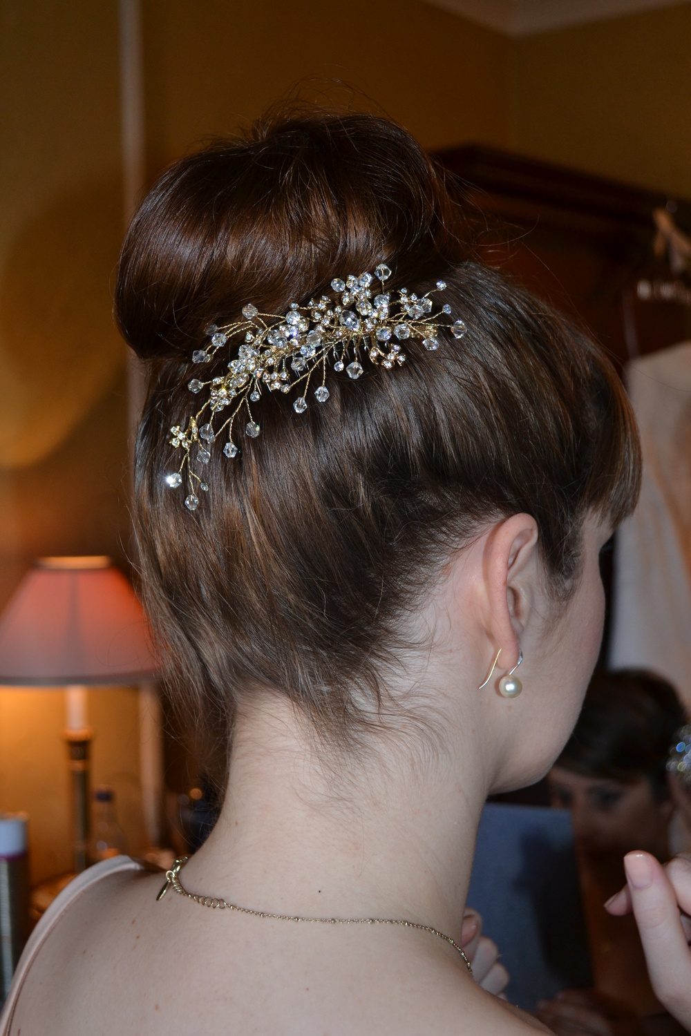 Simple Bridesmaid Hair