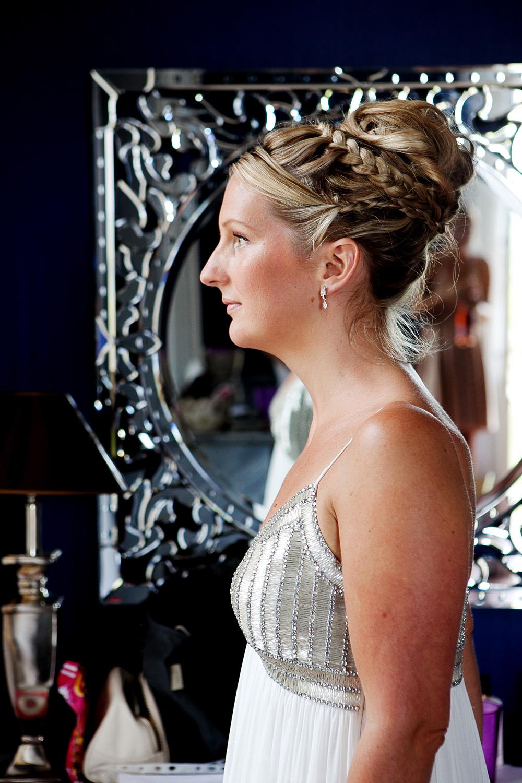 Hair Up With Braids - Dordogne
