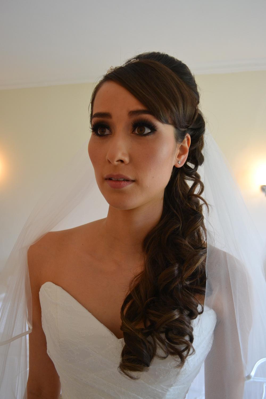 Cornwall Wedding Hair By Jo Irving