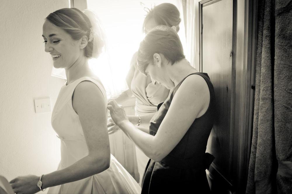 Bridal Hair Up For Cornwall wedding